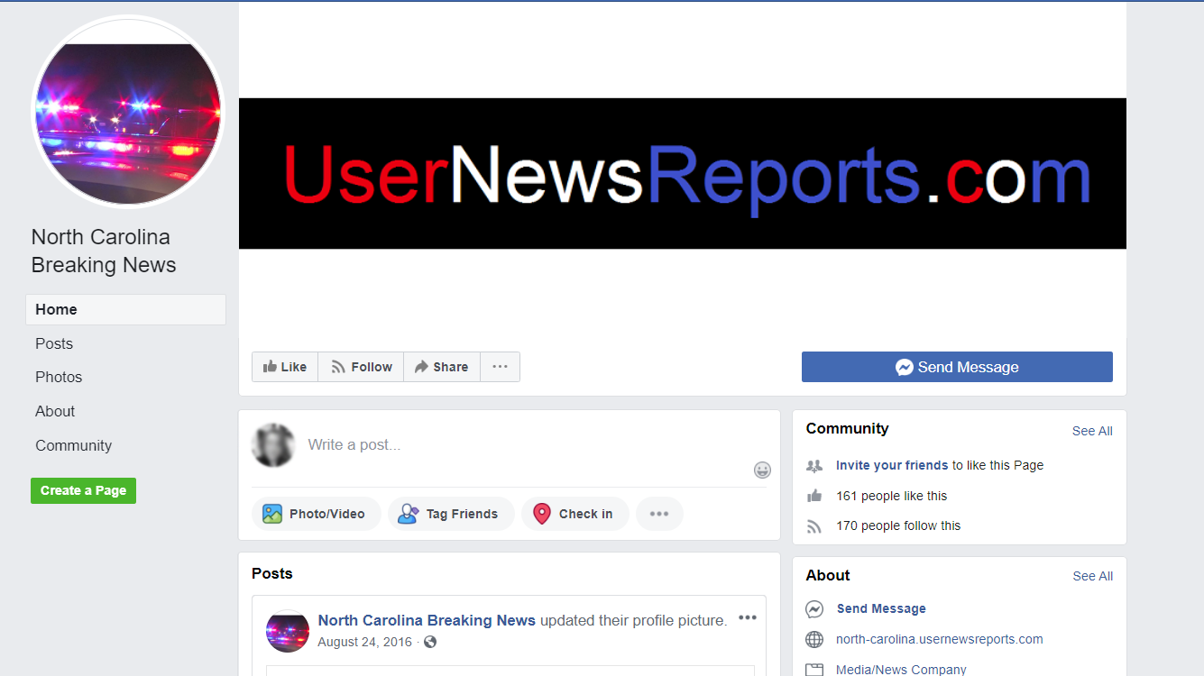 WRAL: North Carolina Facebook page is 'disinformation campaign,' experts say
