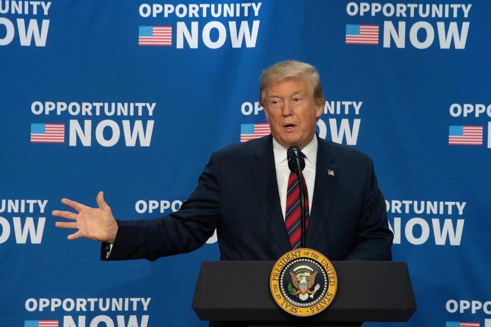 Trump Touts Economy, Blasts 'Failed Impeachment Hoax' In Charlotte Speech