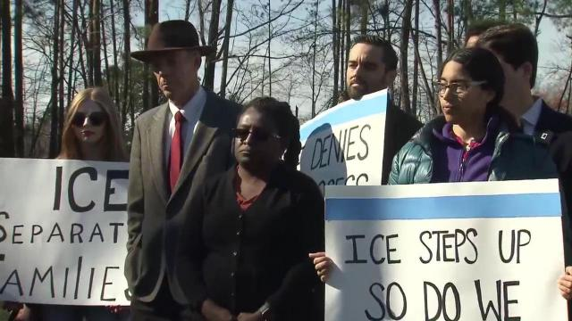 WRAL: Immigrants and city leaders speak out against ICE arrests, family separations