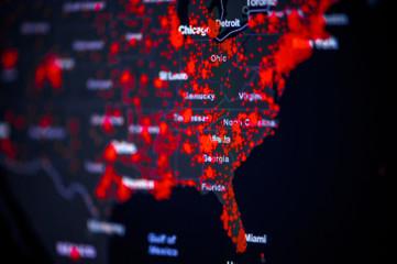 As Trump Downplayed Coronavirus, His Task Force Warned Of 'Red Zone' States Like NC
