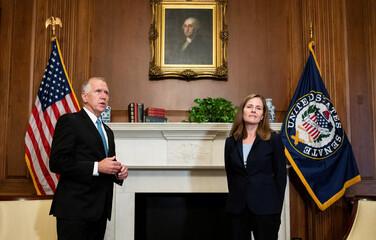 The Progressive Pulse: Tillis, Burr embrace Barrett, as conservative Supreme Court Justice is sworn in