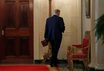Trump leaves White House as he came in: isolated and unpredictable