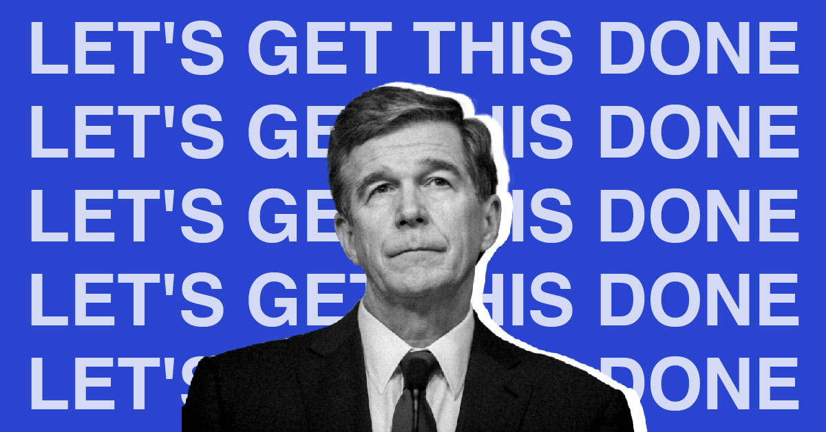 Gov. Roy Cooper to legislators – 'Let's make a deal. Let's get this done'