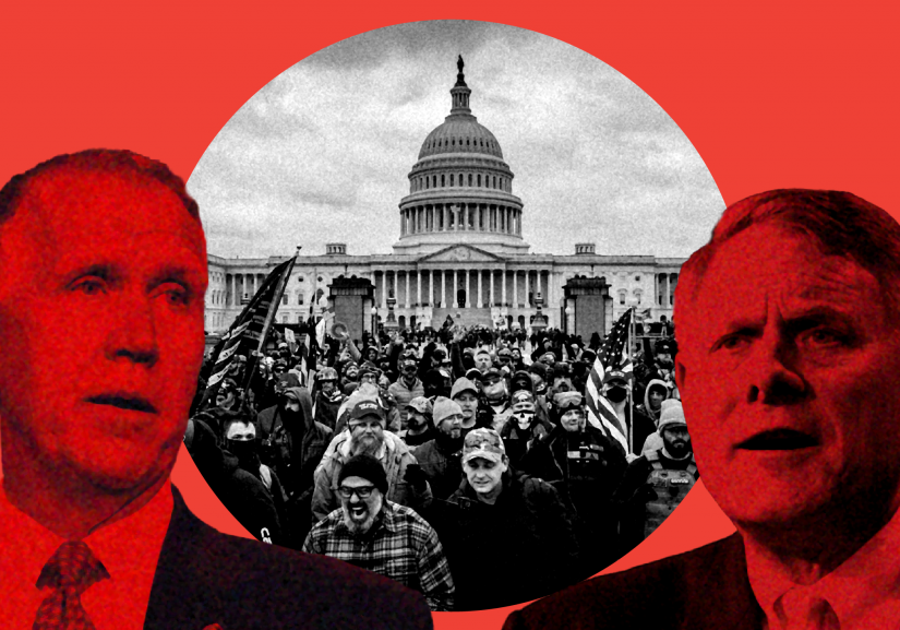 Tillis votes to block commission to investigate Jan 6 Capitol riot- Burr does not vote _ Blog